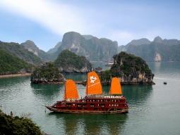 ベトナム ハロン湾クルーズ船宿泊おすすめホテルツアー4