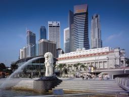東京発 一人旅シンガポール