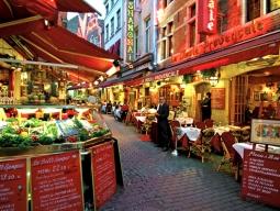 【関西発】ベルギー周遊~関空発着KLMオランダ航空で行く★美しい中世の街並みが残るブリュッセルと水の都ブルージュを巡る6日間