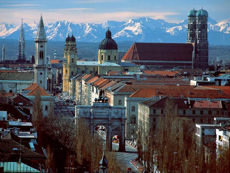 ドイツ人気の2都市周遊値段重視のフリープラン