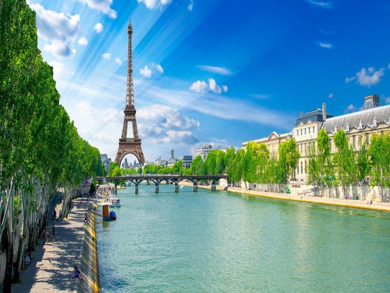 ヨーロッパ人気4都市周遊