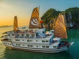 ベトナム ハロン湾クルーズ船宿泊おすすめホテルツアー2