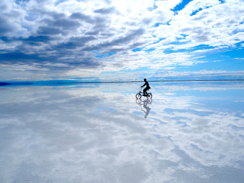 ボンネビル塩湖
