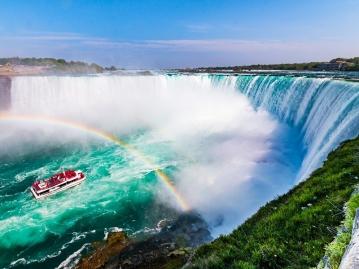 初めてカナダ☆☆充実の観光付☆☆120日前予約で5000円引♪ナイアガラの滝&グランドキャニオン観光付♪アメリカとカナダの世界遺産、絶景、大自然を周遊♪トロント&ラスベガス6日間