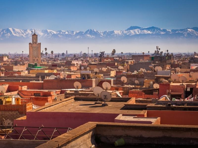 東京発モロッコひとり旅1