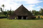 【写真】 原始時代から続くメラネシア式伝統家屋「カーズ」