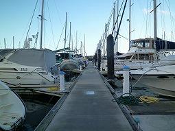 【写真上】港の様子