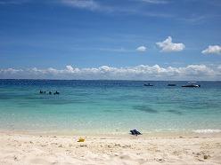 シャングリラマクタンアイランドリゾート プライベートビーチ