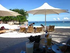 シャングリラマクタンアイランドリゾート  ビーチレストラン
