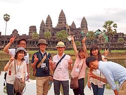 カンボジアを楽しもうっ★