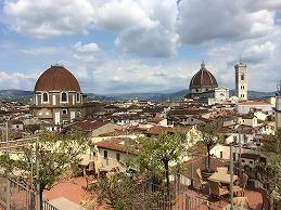 フィレンツェのホテルと街歩き