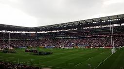 ラグビーワールドカップ2015予選/日本vsサモア 観戦...