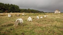 謎の巨石遺跡 カルナック…の一部。。。