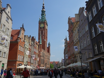 旧市庁舎(Ratusz Głównego Miasta)