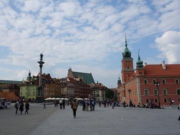 美しいポーランドの首都ワルシャワ