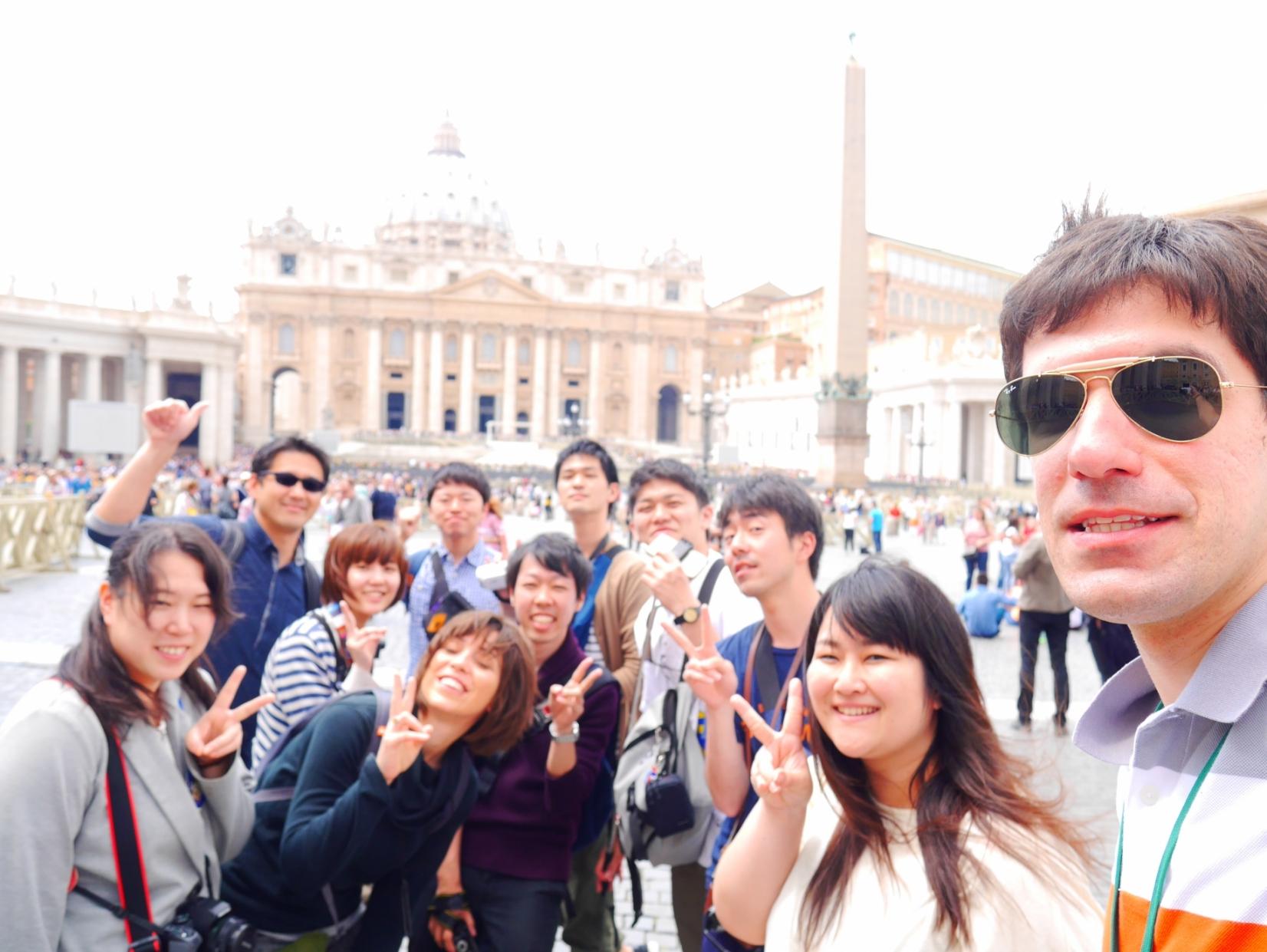 ローマ街歩き BAREFOOT TOUR!