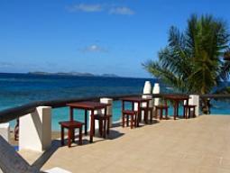 早割!7/31までの予約限定♪離島朝食付♪シュノーケル天国&100万ドルの珊瑚礁が魅力☆オトナが集う人気リゾート☆マタマノア・アイランド7日間