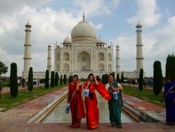 一人旅★プチホームステイで朝ヨガ&インド料理作り&サリーをまとってタージマハル♪ジャイプールで邸宅改装ホテルに2連泊 女子旅7日間