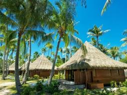 ランギロアブルーを体感★行ってみたい憧れのランギロア島!星野リゾートKIAORAランギロア(ジャグジー付ビーチバンガロー)朝食付3泊6日間
