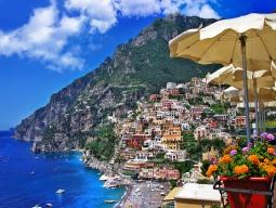 日本国内線込★アリタリア航空♪ 青の洞窟で有名なカプリ島&美しき世界遺産アマルフィ海岸「ミラマルフィ」滞在&ローマで観光もしっかり楽しむ8日間