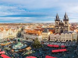選べるフライト♪新千歳発着エールフランス★短い期間でも行きたい!世界で最も美しい街に数えられる古都「プラハ」滞在 音楽と芸術に触れる5日間