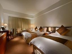 台北2泊3日間  日本語スタッフが多く安心!ガーラホテル(慶泰大飯店)宿泊