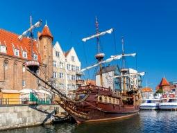 <女子旅>★6日間で巡る2カ国周遊★ヨーロッパ最短最速のフィンエアー利用 ポーランドの琥珀の港町「グダニスク」&北欧最大の都市「ヘルシンキ」