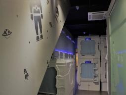 ひとり旅! 快適LCCスクート航空★ひとり旅でも安くて綺麗な最新ホステル ★『MET A Space Pod @リトルインディア』2泊4日間