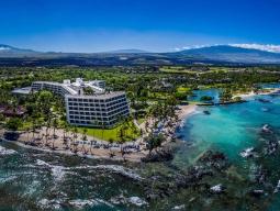 【2017年末年始特集】<ハワイ島満喫プラン♪成田発着ANA> 往復送迎プラン!高級リゾート!マウナラニベイ・ホテル&バンガローズ滞在6日間